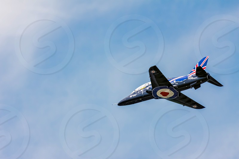 BAE Systems Hawk Aerial Display at Biggin Hill Airshow photo