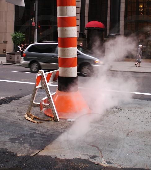 NY steam street street repairs photo