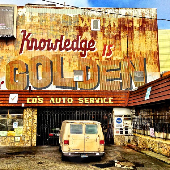 knowledge is golden cd's auto service photo