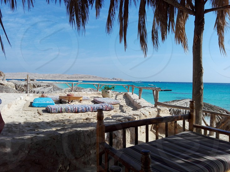 Egypt red sea hurghada mahmya photo