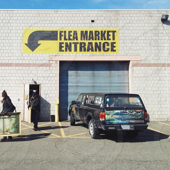 """Budget Landscaping"" (Flea Market Entrance) photo"