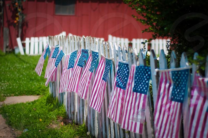 Celebrating America in Kimmswick Missouri photo