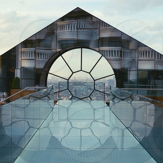 glass building photography photo