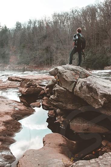 exploreadventurenaturefunmodelfall photo