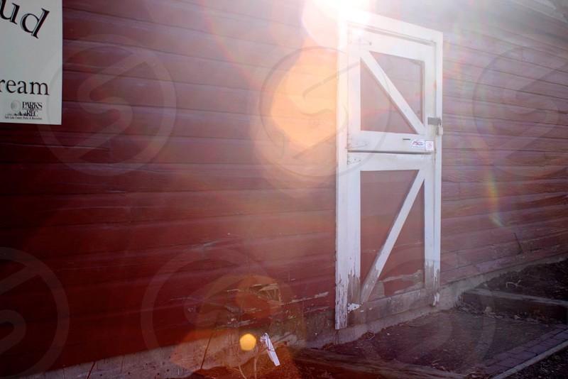 Old vintage barn photo