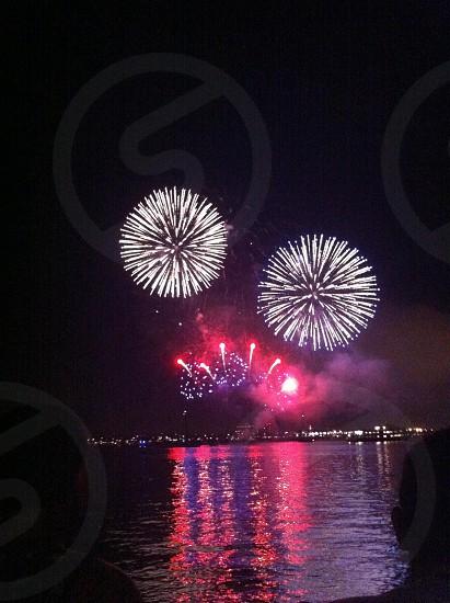fireworks display view photo