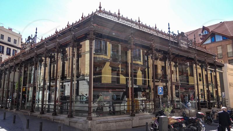 Market of San Miguel - Madrid Spain. photo