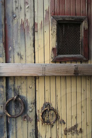 Roundhouse doors detail photo