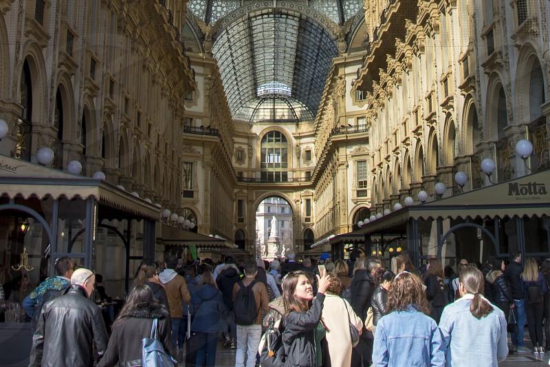 Galleria Vittorio Emanuele II Milano Italy photo