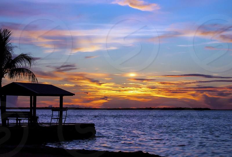 Florida Keys Key Largo Sunset photo