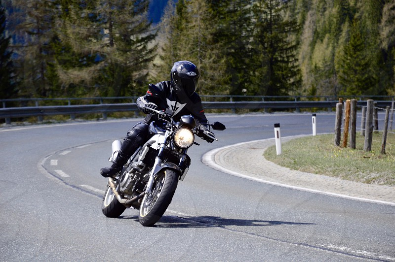 Bikers best in the alps photo