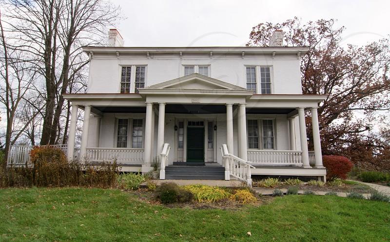 Harriet Beecher Stowe House Cincinnati Ohio white house author historical  photo