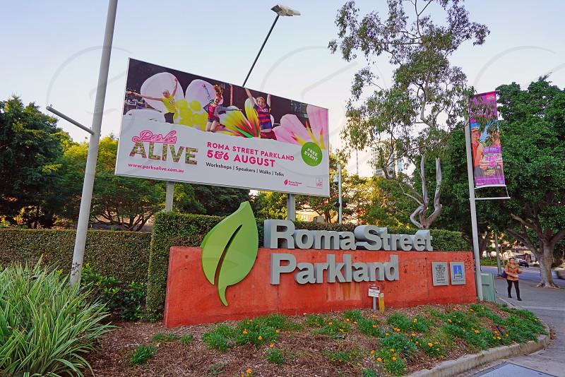 Roma Street Parkland - Brisbane Queensland Australia photo