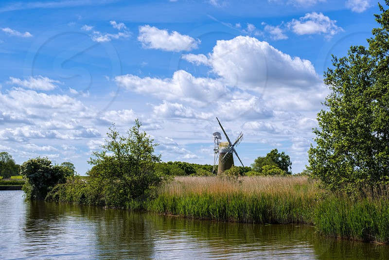 View of Turf Fen Mill at Barton Turf photo