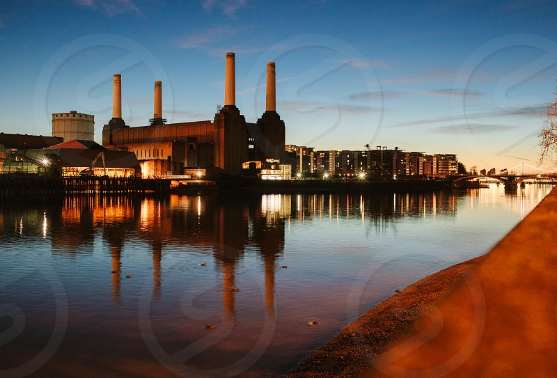 The Factory of London (at sunset) photo