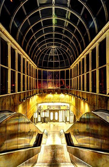 Subway Stairs photo
