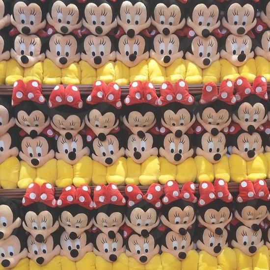 minnie mouse plush toy photo