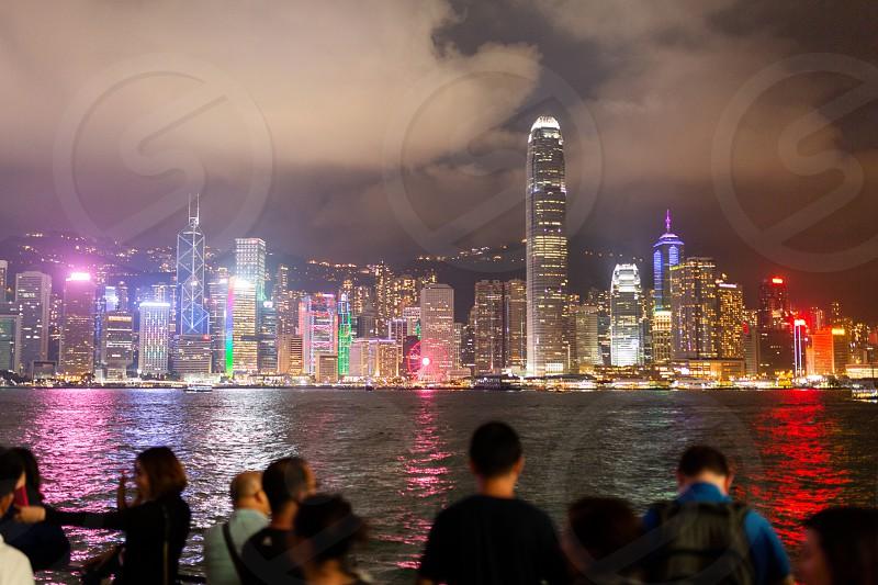 Hong Kong Tsim Sha Tsui Harbour  photo