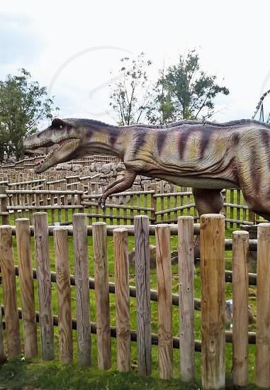 Dinosaur Statue photo