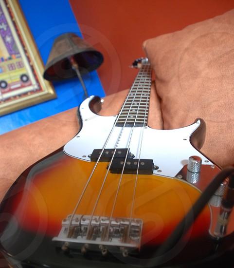 Solano's guitar photo