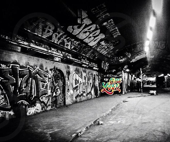 One Love Waterloo Street Art photo