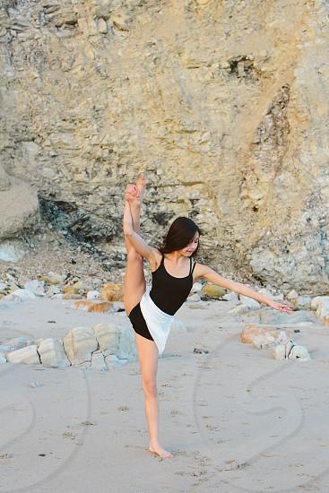 dancer beach photo