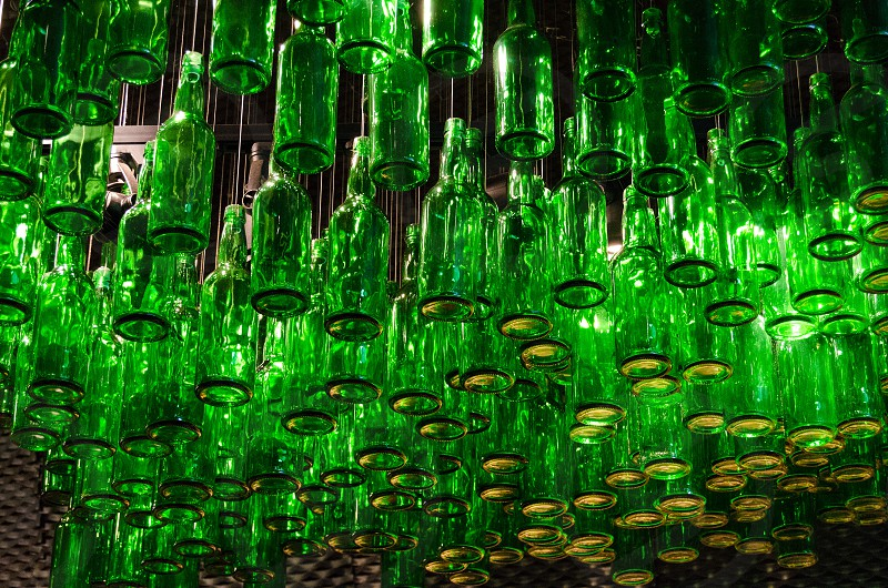 Green Bottles photo