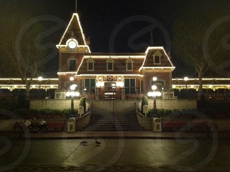 Disneyland train station. #disneyland #trainstation #disney photo