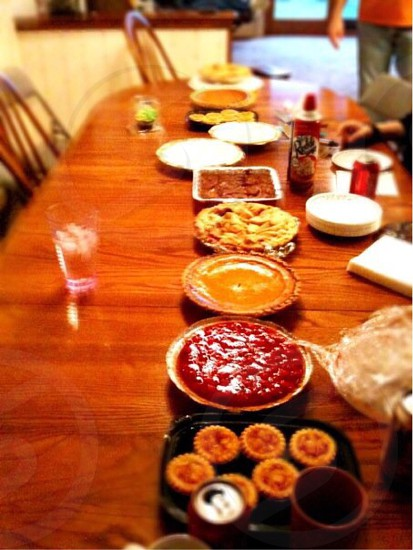 I love this time of the year family and great food photo