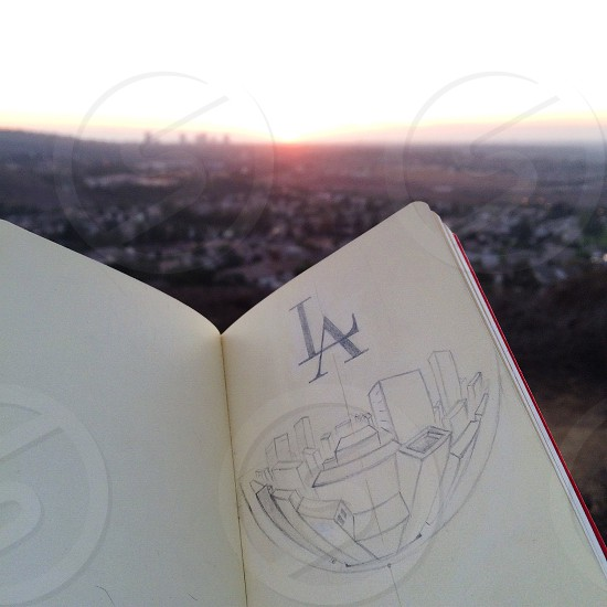 Sunset on Turtle Rock photo