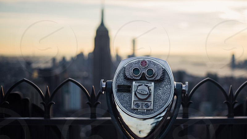 Top of the rock.  photo