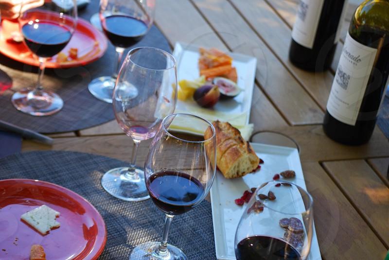 wine glass photo
