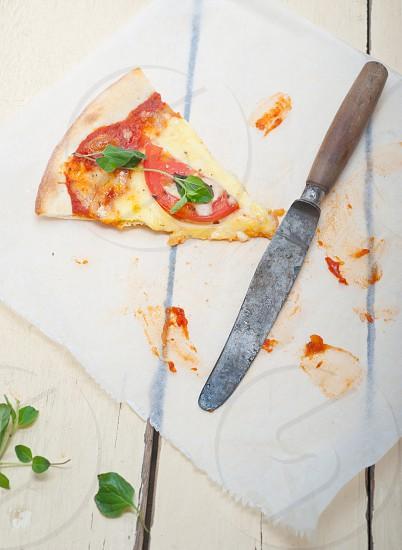 Italian pizza Margherita photo