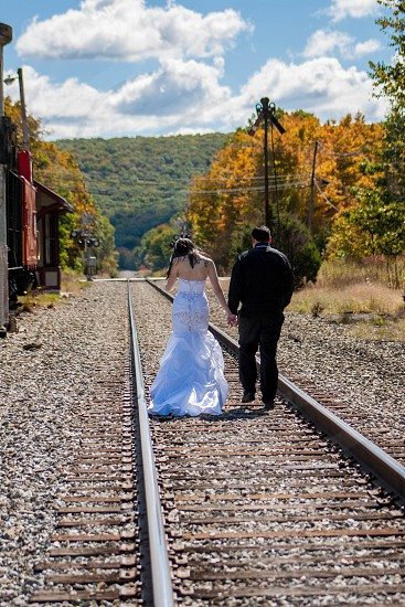 Love on the tracks photo