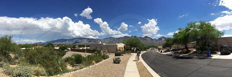 Mountain views in TucsonAZ photo