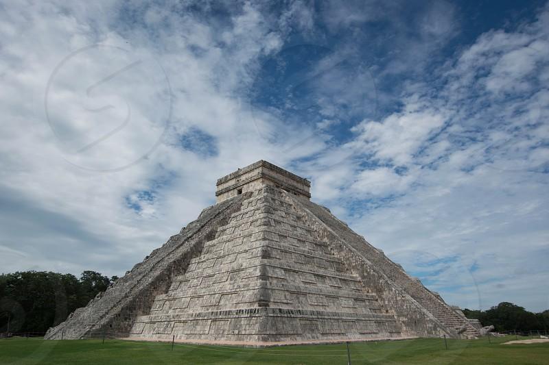 Pyramid Chitchen Itza Ancient World Heritage photo