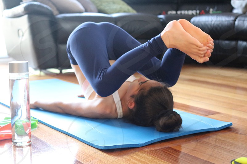 Yoga sport exercise  photo