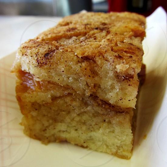 Cinnamon bread pudding photo