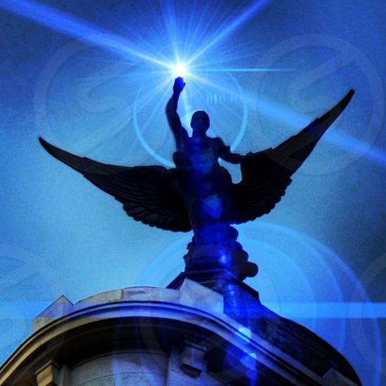 escultura luz efectos photo