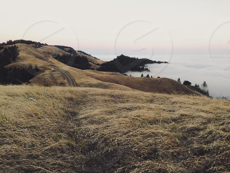 brown mountain range photography  photo