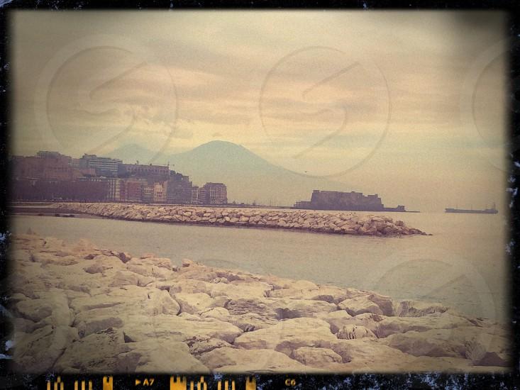 Naples Via Caracciolo Winter 2013 photo