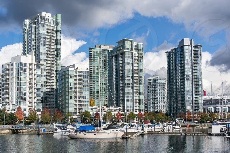 Yaletown. Residential area of Downtown Vancouver BC Canada photo