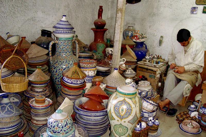 Ceramics in Fez photo
