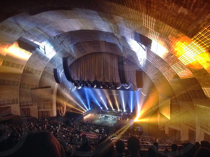 Radio city music hall.  photo