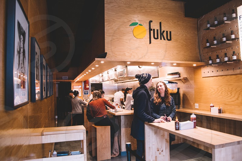 people in fuku cafe photo