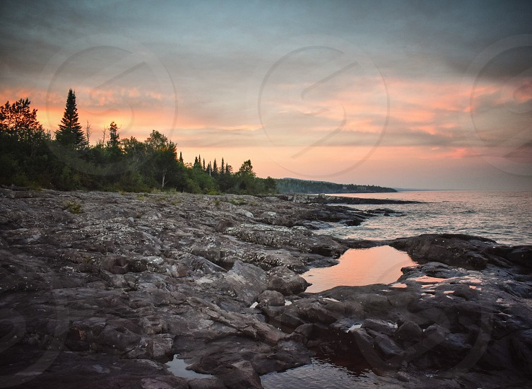 North Shore Lake Superior Minnesota  photo