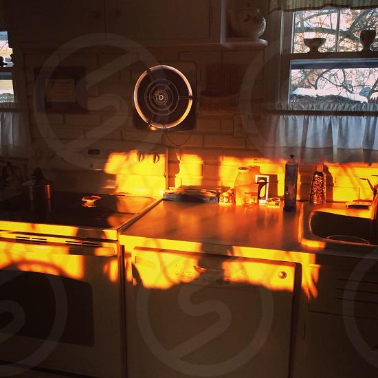 Morning Light in Gran's Kitchen photo
