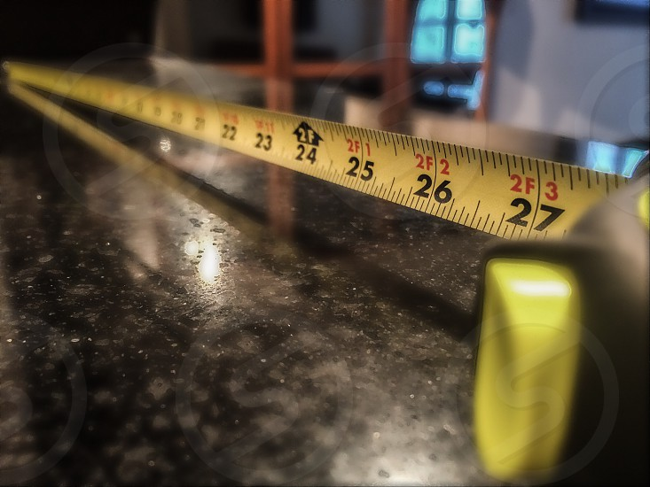 Home improvement tape measure  photo