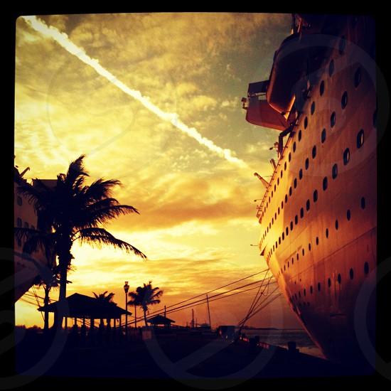 ship at dock photo