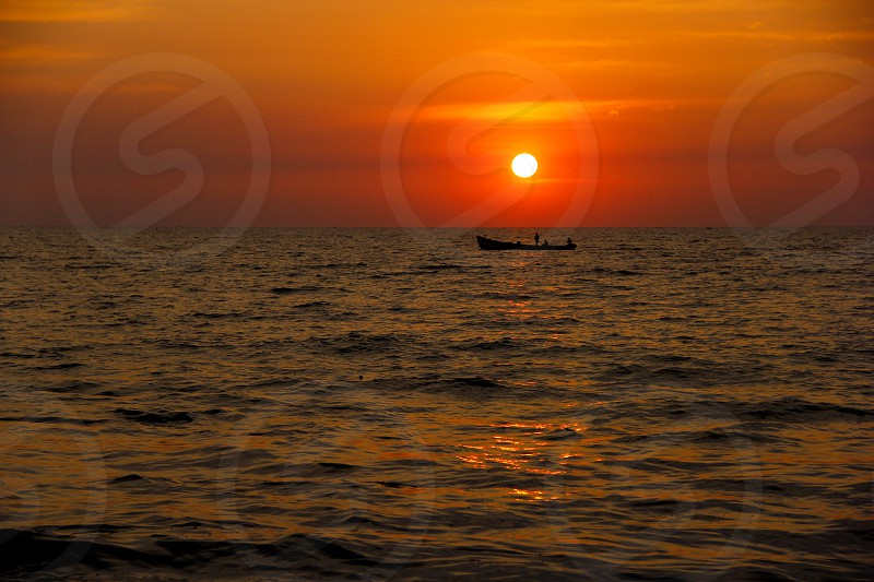 Ocean Sunset  Nature photo